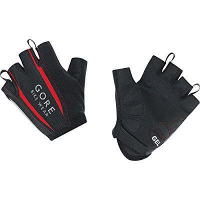 gore bike wear men's power 2.0 gloves, large, black/red - Gore Bike Wear Cross