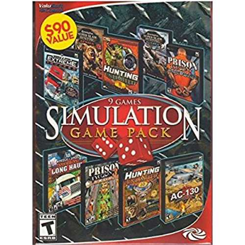 9 Games in One Simulation Game Pack