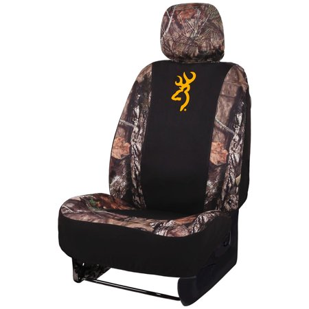 Signature Products  Browning Neoprene Seat Cover Low Back Mossy Oak Country