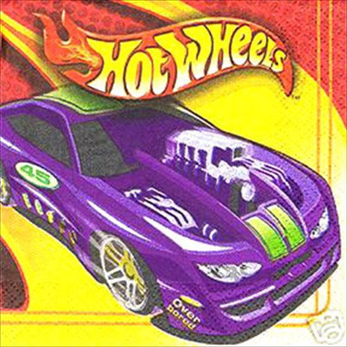 Hot Wheels 'High Performance' Small Napkins (16ct)