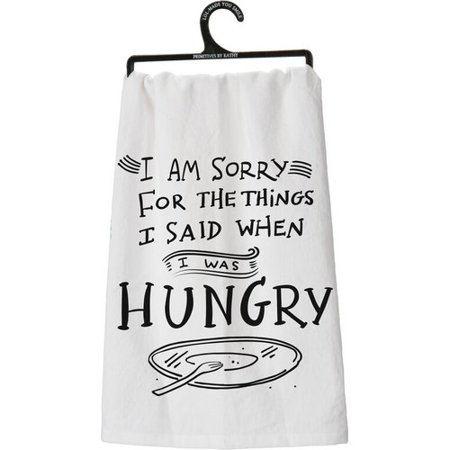 Primitives By Kathy Hungry Dish Towel