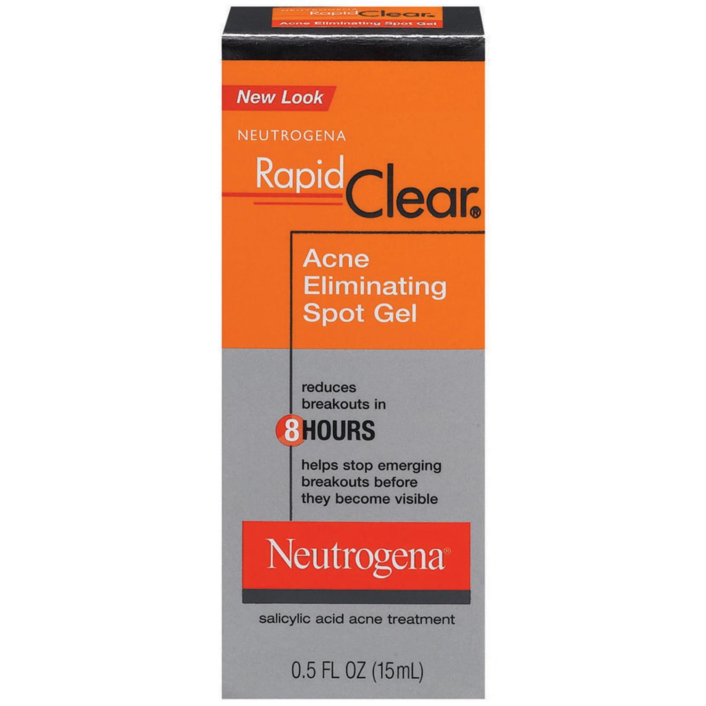 Neutrogena Rapid Clear Acne Eliminating Spot Gel, 0.5 Fl. Oz