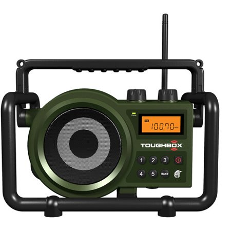 Sangean TB-100 AM FM Ultra-Rugged Digital Tuning Radio Receiver by
