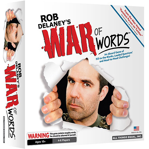 All Things Equal Rob Delaney's War of Words Game