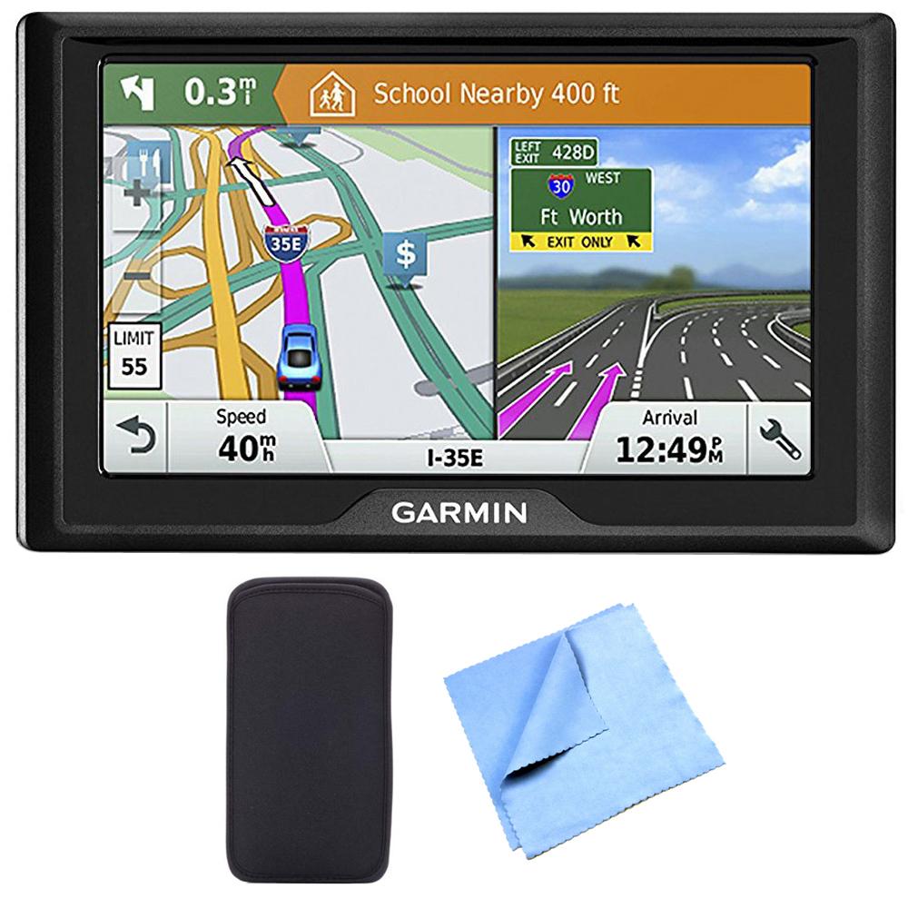 Garmin Drive  Lm Gps Navigator With Driver Alerts Usa Canada