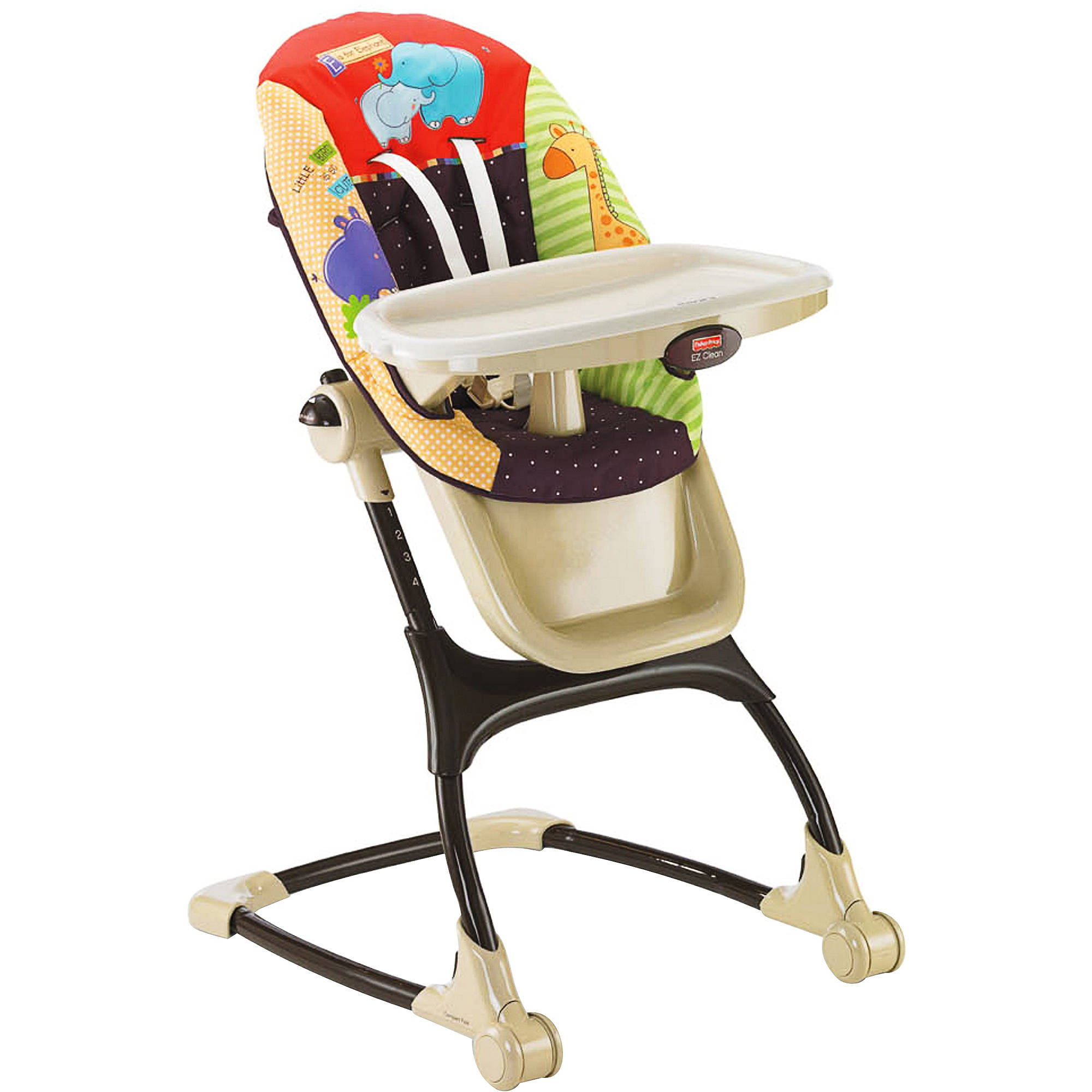 Fisher price precious planet high chair - Fisher Price Spacesaver High Chair Rainforest Friends Walmart Com