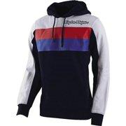 Navy Blue/White/Red Sz XXL Troy Lee Designs Block Signature Hoody