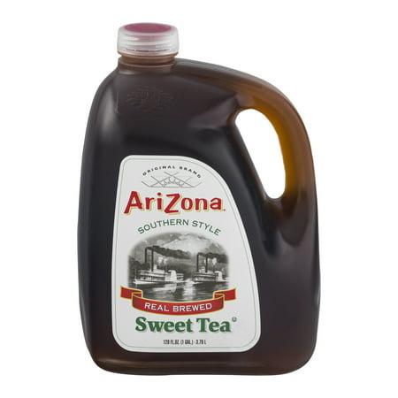 (2 Jugs) Arizona Southern Style Real Brewed Sweet Tea, 128 Fl Oz