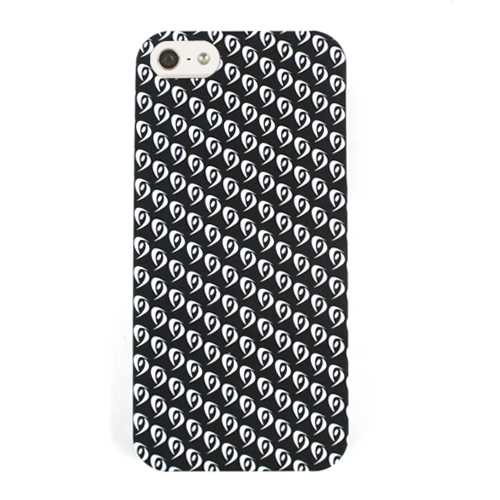 Unlimited Cellular Hybrid Fit On Case for Apple iPhone 5 / 5S (Eyes on Black)