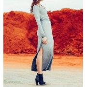 Cosabella RM7591 CSBLA Rimini Wash LS Maxi Dress