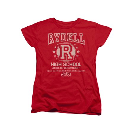 Grease Movie Rydell High Women's T-Shirt Tee