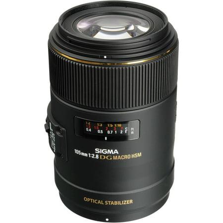 Sigma 105mm f/2.8 EX DG OS HSM Macro Lens - Nikon