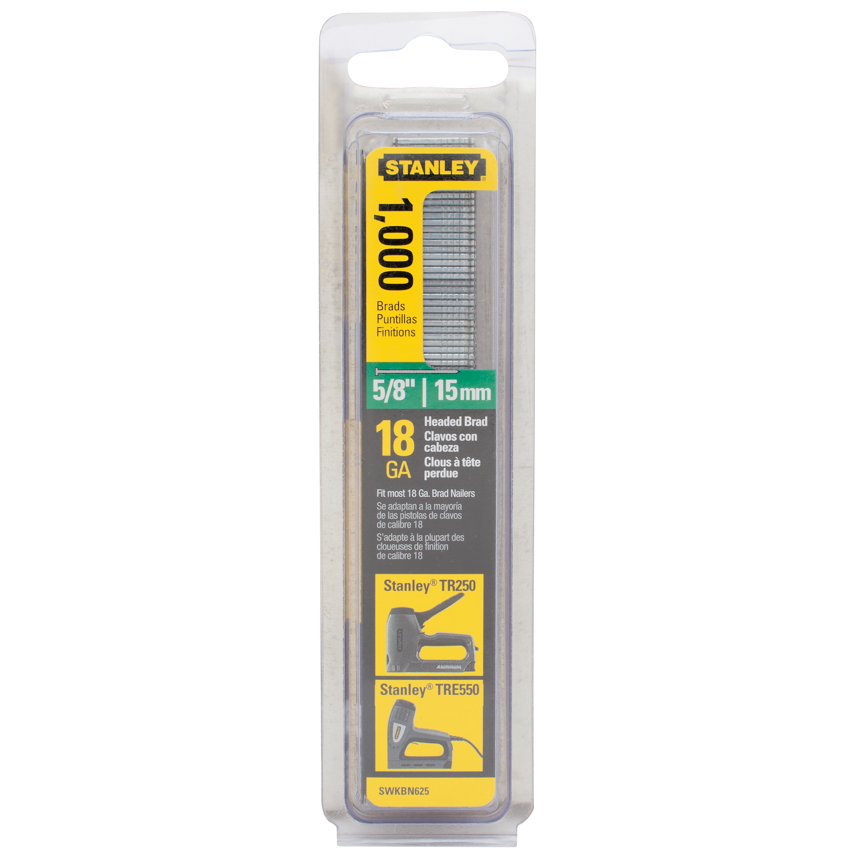 STANLEY SWKBN625S 5/8-Inch Brand Nails, 1,000 Pack