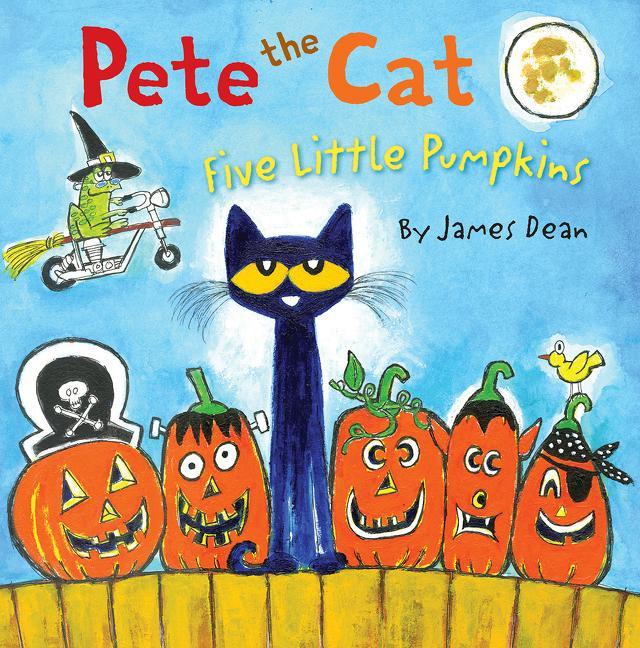 Pete the Cat: Five Little Pumpkins (Hardcover)