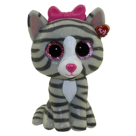 TY Beanie Boos - Mini Boo Figures - KIKI the Grey Tabby Cat (2 inch) (Mini Tabby Cat)