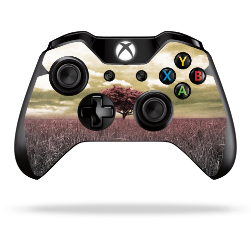Protective Vinyl Skin Decal Cover for Microsoft Xbox One/ One S Controller wrap sticker skins Vintage Scene