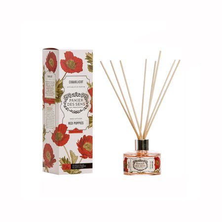 Panier Des Sens Reed Diffuser Red Poppies 3.3 oz. ()