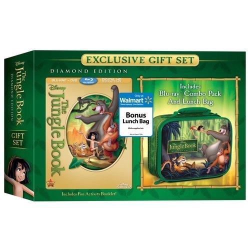 The Jungle Book (Diamond Edition) (Blu-ray + DVD + Digital Copy + Lunch Bag) (Widescreen)