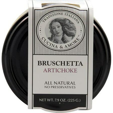 (6 Pack) Cucina & Amore Bruschetta Artichoke 7.9 (Artichoke Bruschetta)