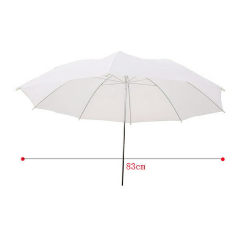33in / 83cm Studio Flash Translucent White Soft Umbrella