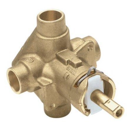 Moen 2520 1/2 Inch Sweat Posi-Temp Pressure Balancing Rough-In Valve
