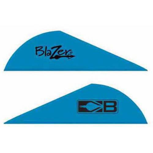 """Bohning 2/"""" Blazer Vanes Teal pack de 36"""