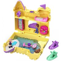 Polly Pocket Big Pocket World Sandcastle with Polly & Shani Doll