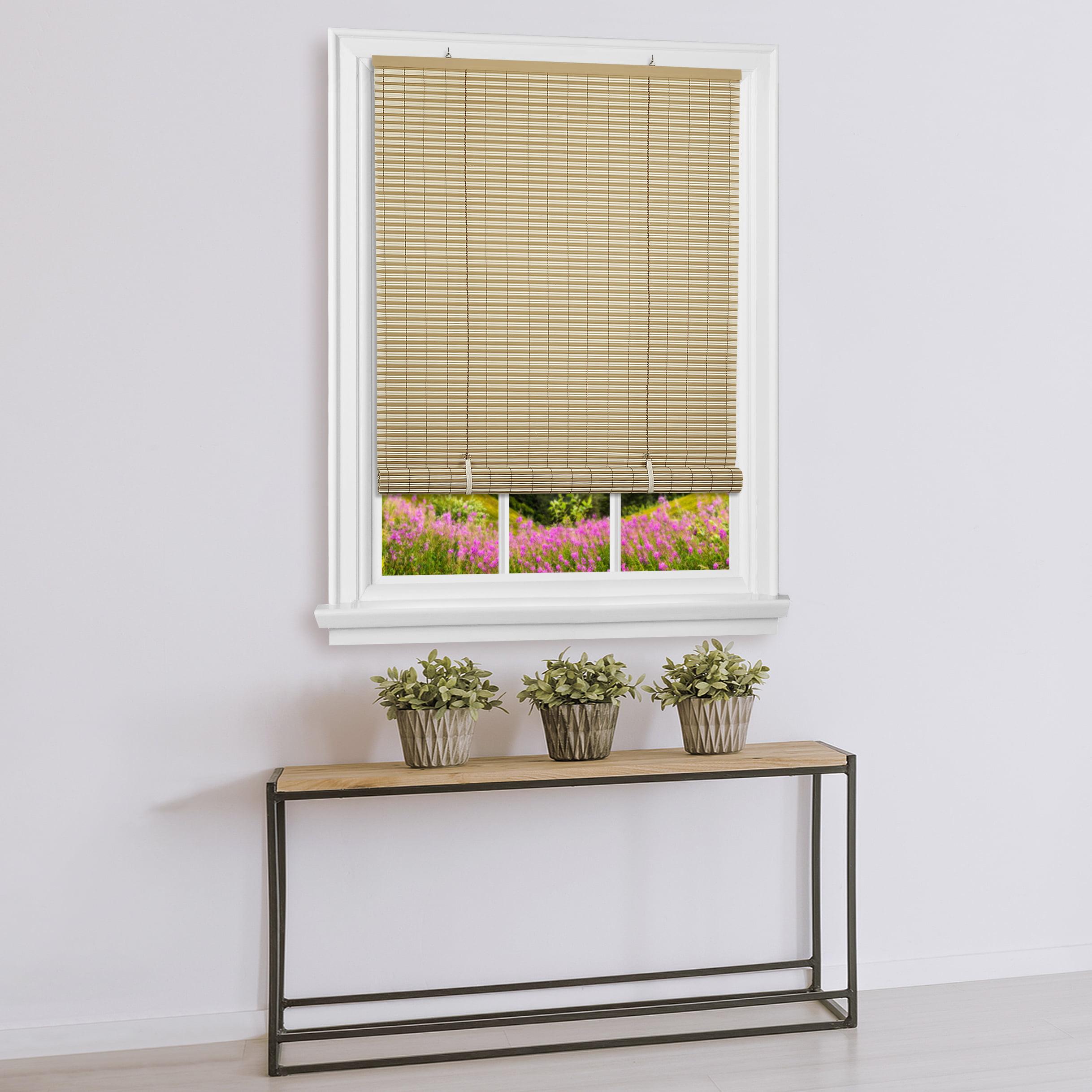Achim Cordless Veranda Vinyl Roll Up Window Blinds