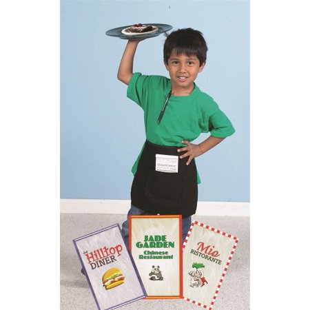Waiter/Waitress Apron with Guest Order Book and Menu for $<!---->