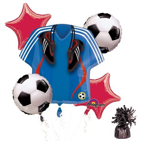 Soccer Party Balloon Kit - Party Supplies