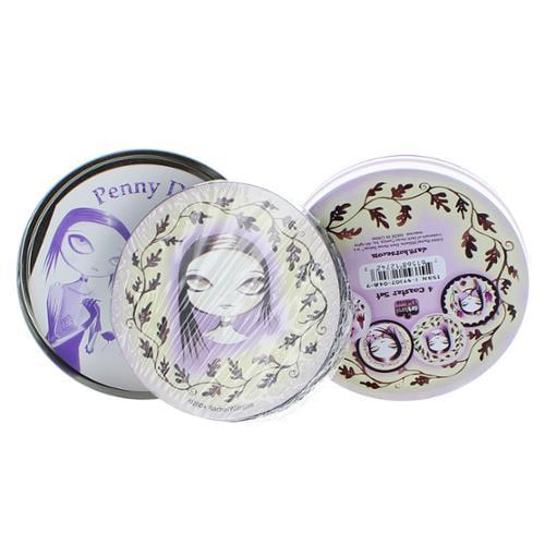 Rachel Williams 4-Piece Coaster Set