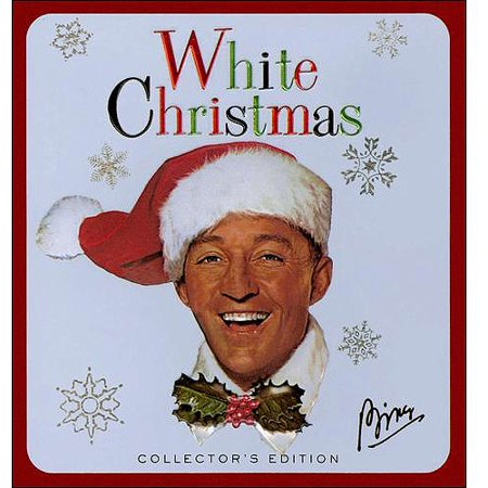 collectors tin white christmas cddvd