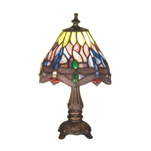 Meyda Tiffany 26615 Stained Glass   Tiffany Accent Table Lamp from the Hanginghe by Meyda Tiffany