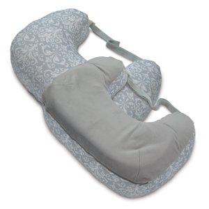 Boppy Best Latch Breastfeeding Pillow, Kensington Gray