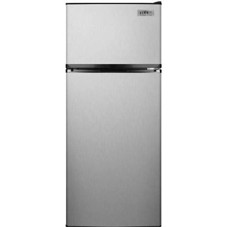 Summit 24-Inch 10.3 Cu. Ft. Freestanding Apartment Refrigerator With Ice  Maker