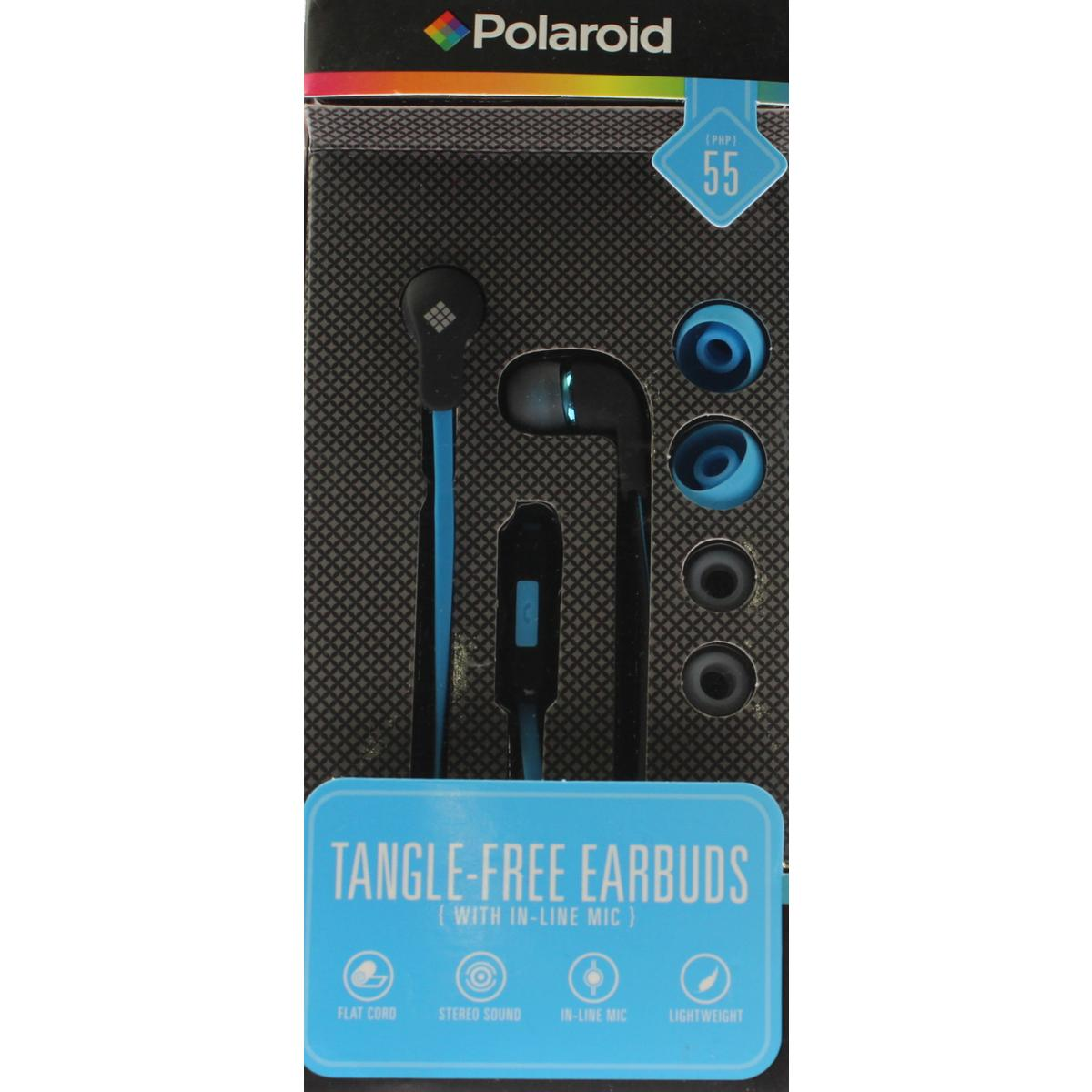 Polaroid Lightweight Wired Earbud Headphones