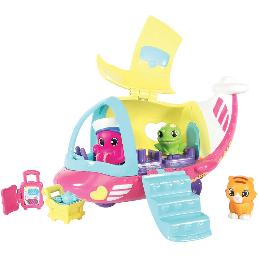 Squinkies Do Drops Squinkieville Vehicle Set, Airplane