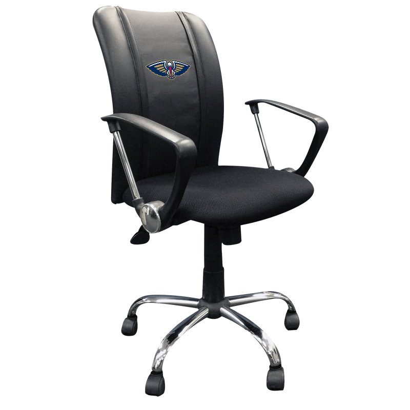New Orleans Pelicans NBA Curve Task Chair