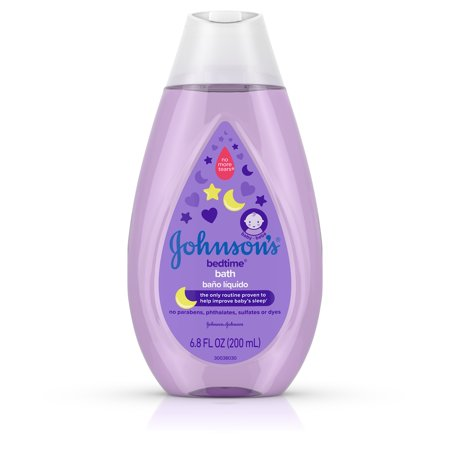 Johnson's Bedtime Baby Bath with Soothing Aromas, 6.8 fl. oz