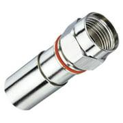 IDEAL 92-655 RG6 Quad F-Compress Connectors, 50pk