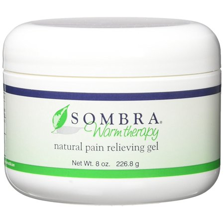 Warm Therapy Pain Relieving Gel, 8 Ounce, 2 Count, Absorbs quickly with a refreshing orange scent. By Sombra