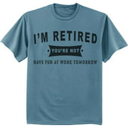 Funny Retirement Gift Retired T-shirt Men's Graphic Tee