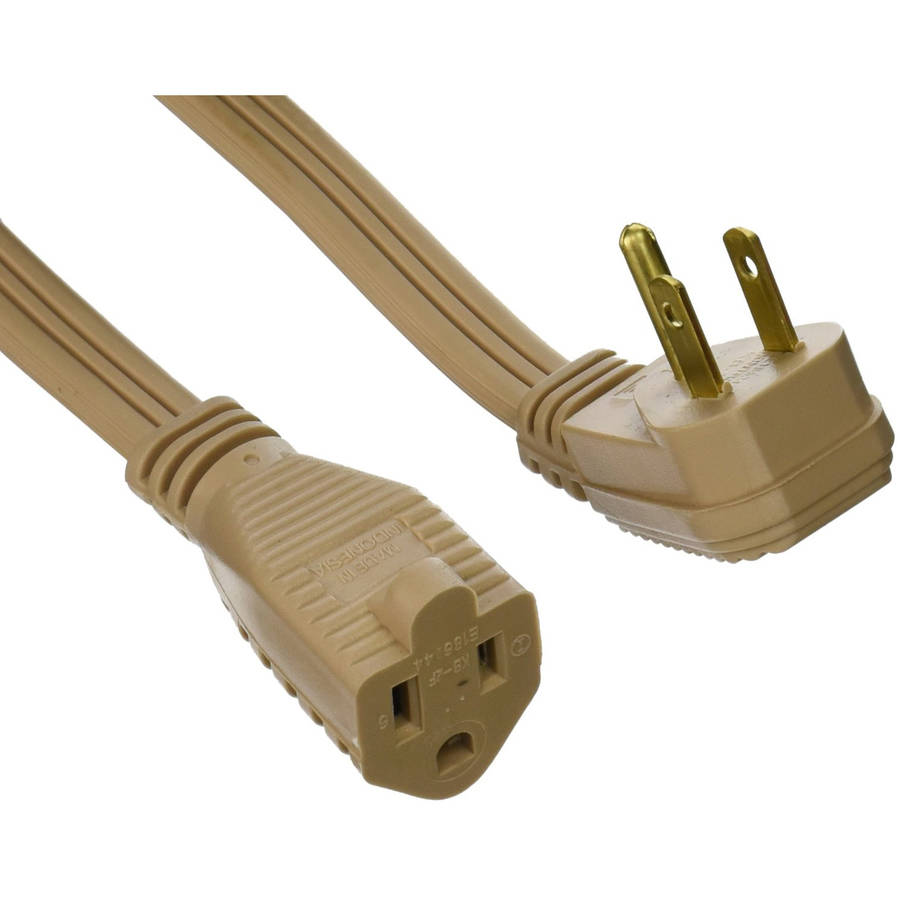 Coleman Cable 3531 14/3 General Use Appliance Extension Cord, 3'