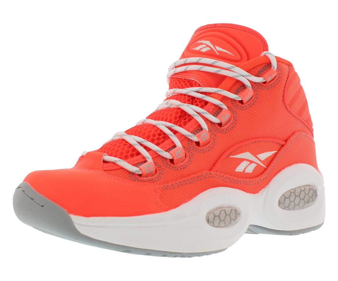 Reebok Men's Question Mid Otss Atomic Red/Baseball Grey Athletic Shoe