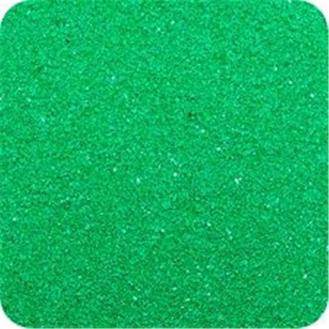 Sandtastik CS2829 Classic Colored Sand 28 oz. Bottle - Shake & Pour Lid - Emerald Green