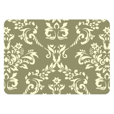 Image of Bungalow Flooring Damask Indoor / Outdoor Mat - 1.83 x 2.58 ft.