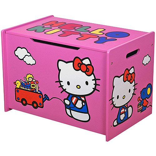 Carnival Toy Box Pink: Hello Kitty Toy Box, Pink