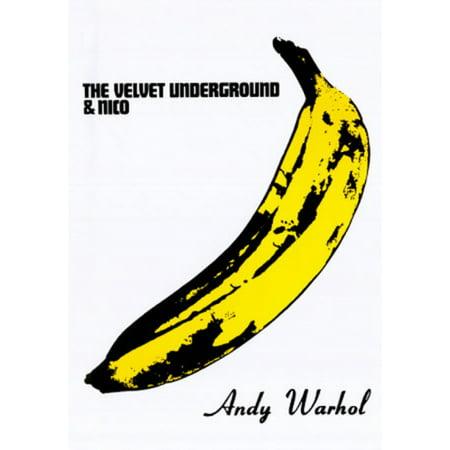The Velvet Underground & Nico (Banana) Poster Print by Andy Warhol (24 x 36)