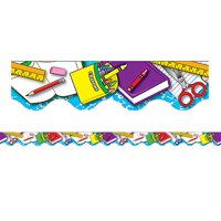 SCHOOL TOOLS BORDER TRIM