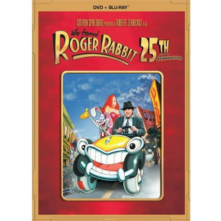 Who Framed Roger Rabbit  25Th Anniversary Edition   Dvd   Blu Ray   Widescreen